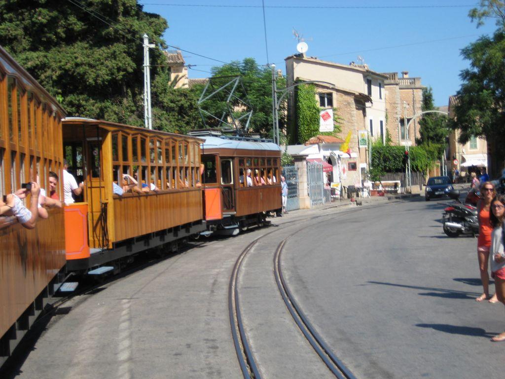 Трамвай в Сойере - Отдых на Майорке